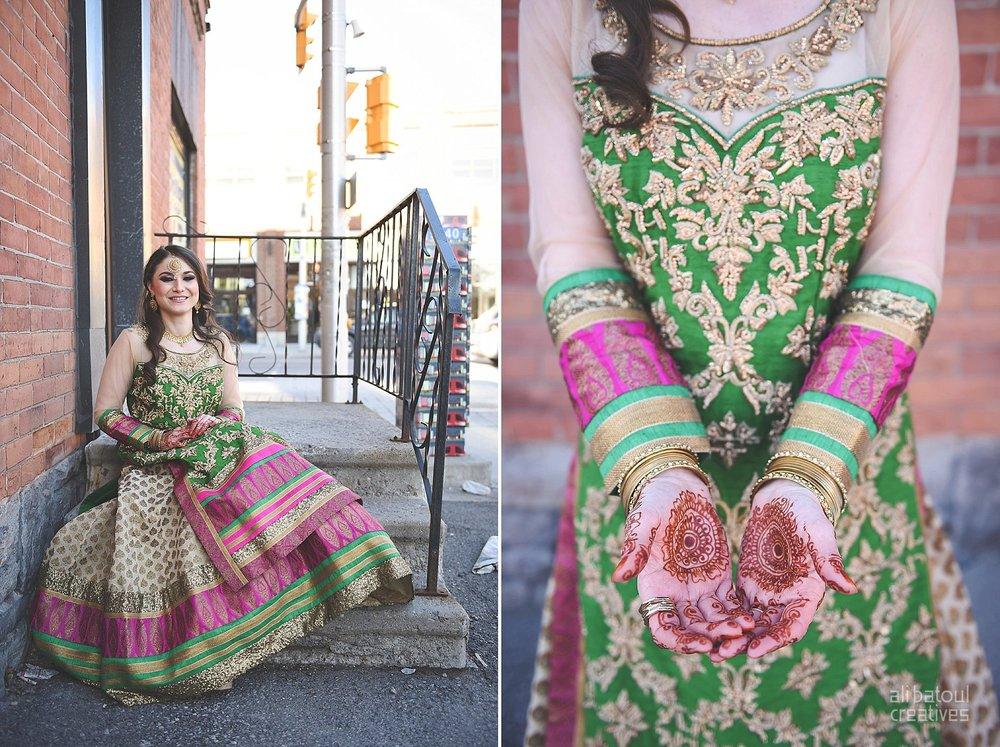 Indian-inspired bridal shoot - Ali Batoul Creatives-195_Green_Red Dress (BTS)
