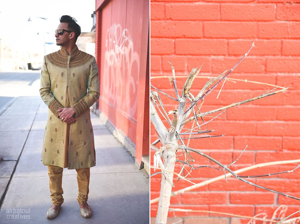 Indian-inspired bridal shoot - Ali Batoul Creatives-237_Green_Red Dress (BTS)
