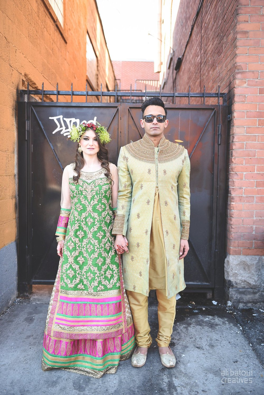 Indian-inspired bridal shoot - Ali Batoul Creatives-275_Green_Red Dress (BTS)