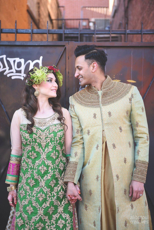 Indian-inspired bridal shoot - Ali Batoul Creatives-284_Green_Red Dress (BTS)