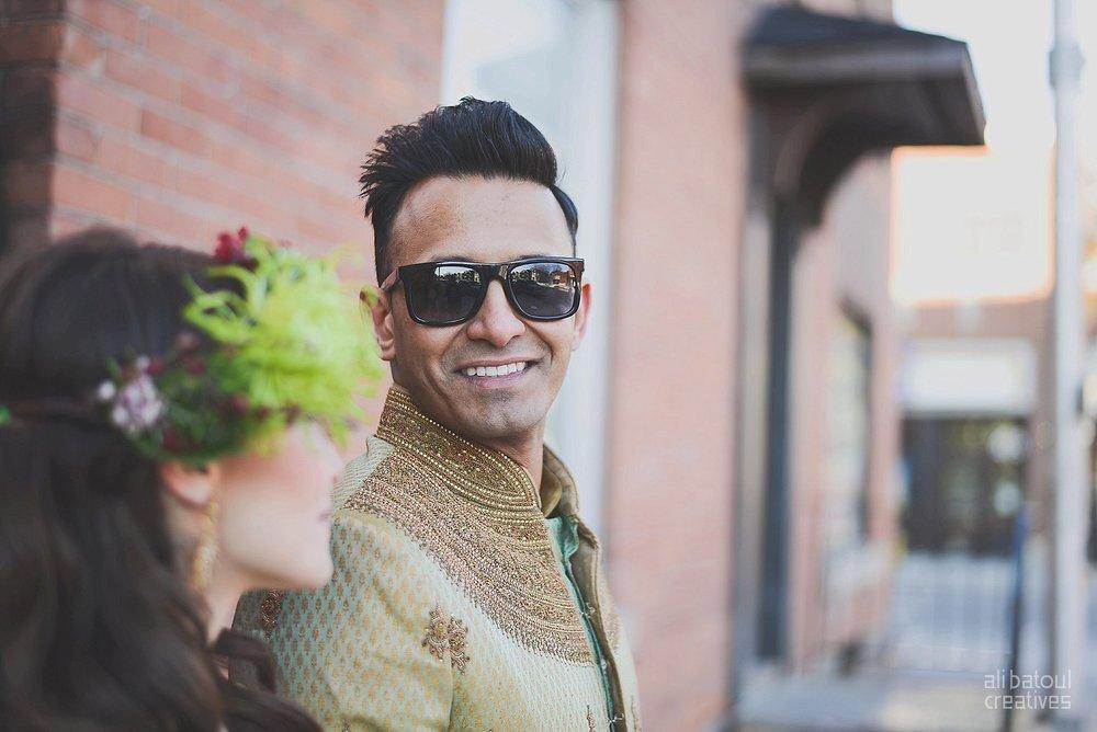 Indian-inspired bridal shoot - Ali Batoul Creatives-286_Green_Red Dress (BTS)