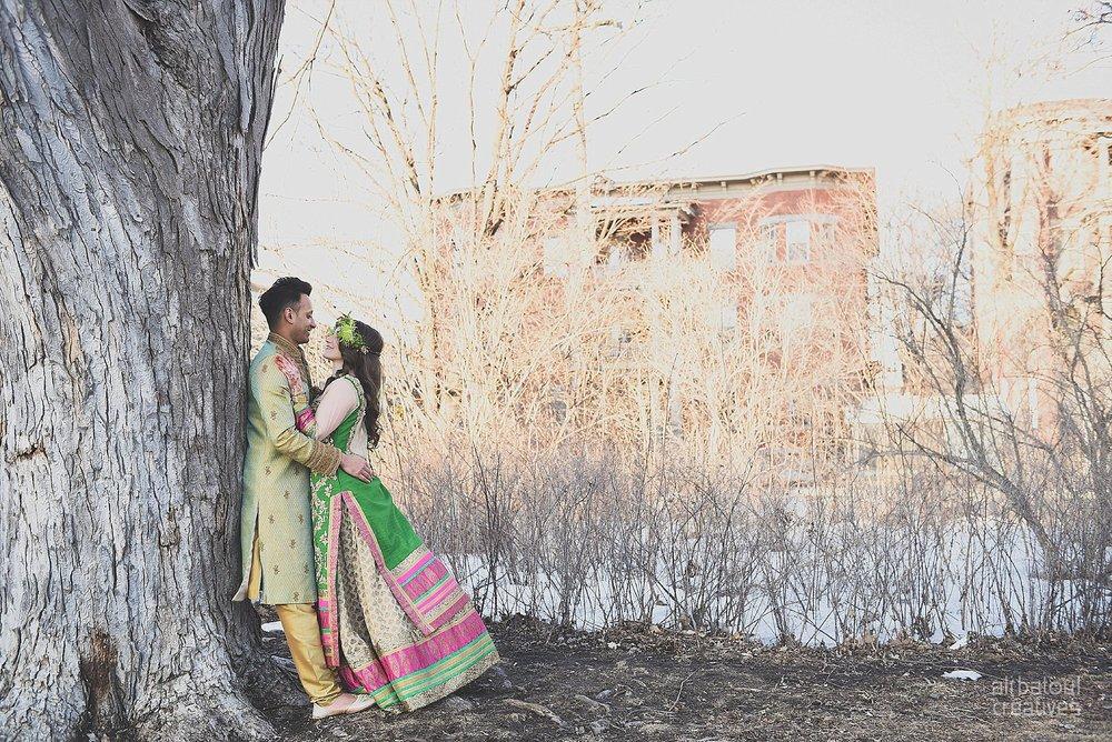 Indian-inspired bridal shoot - Ali Batoul Creatives-326_Green_Red Dress (BTS)