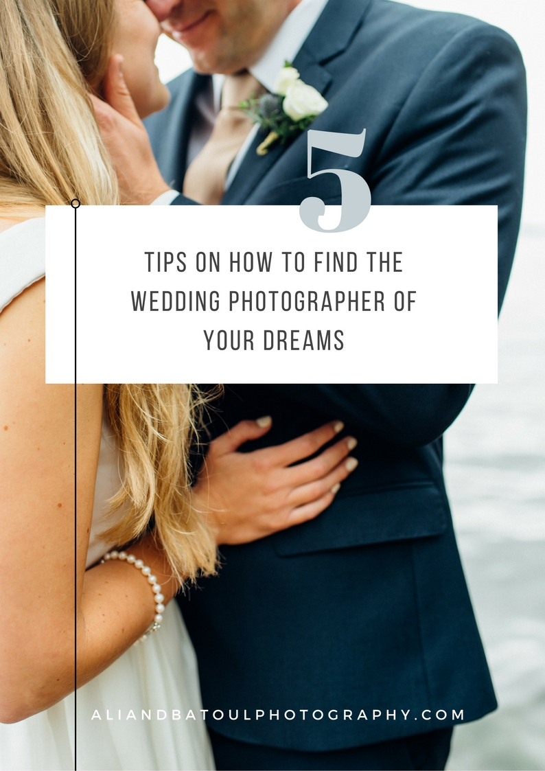 Ottawa wedding photographer - how to find the wedding photographer of your dreams