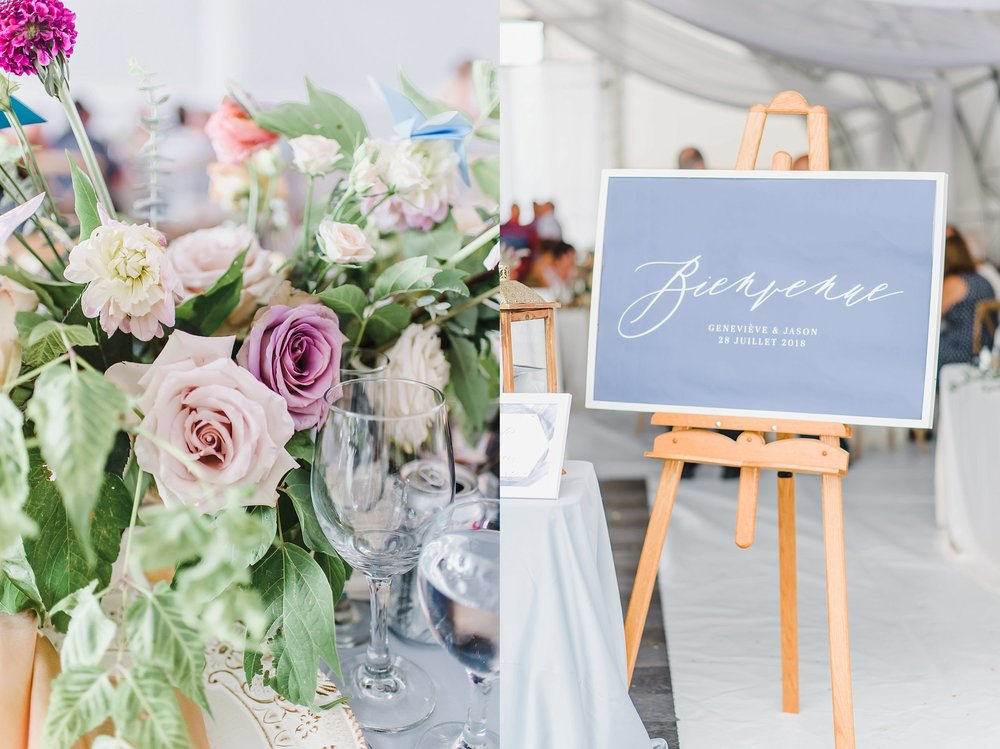 Here are just a few of my favourite details that Brittany of Frid Events created for Genevieve and Jason's French countryside wedding.