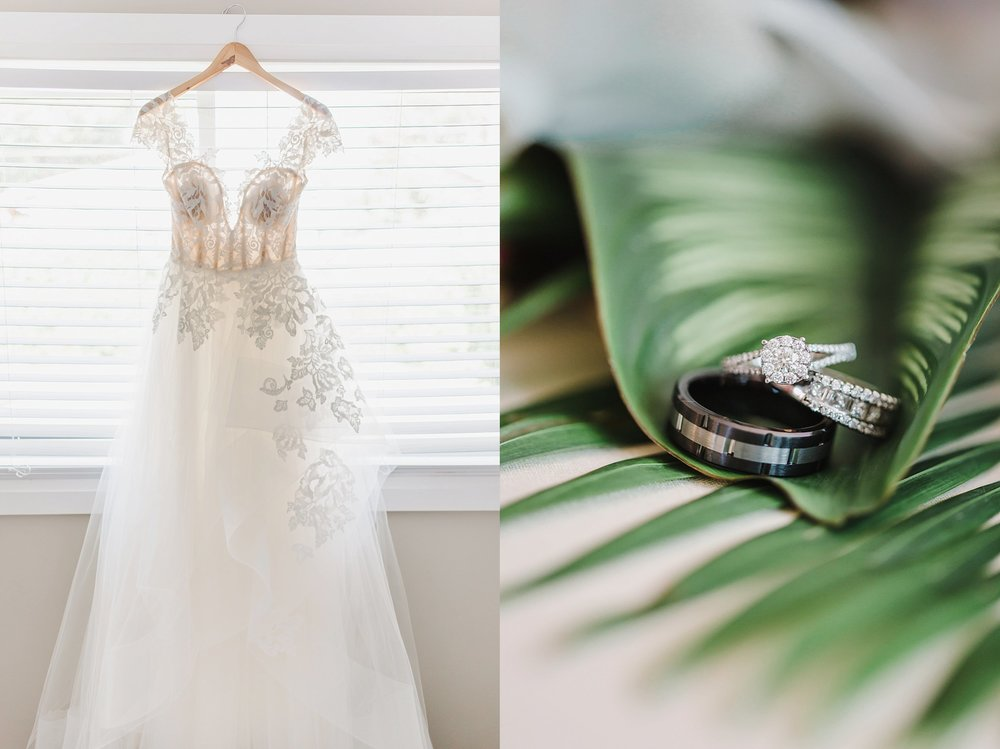Ann-Lori chose a stylish, elegant Hayley Paige gown.  It went so perfectly well with her graceful nature and sharp fashion sense.