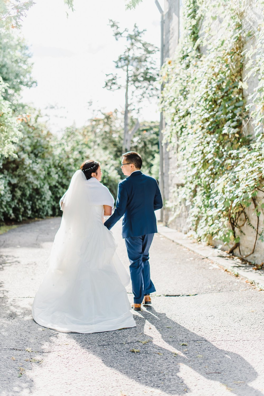 A tornado struck the night before, but that didn't stop Maxine and Felix from saying their I dos the next day. They celebrated at Beckta eating the best waffles and freshest fruit at their  brunch wedding.