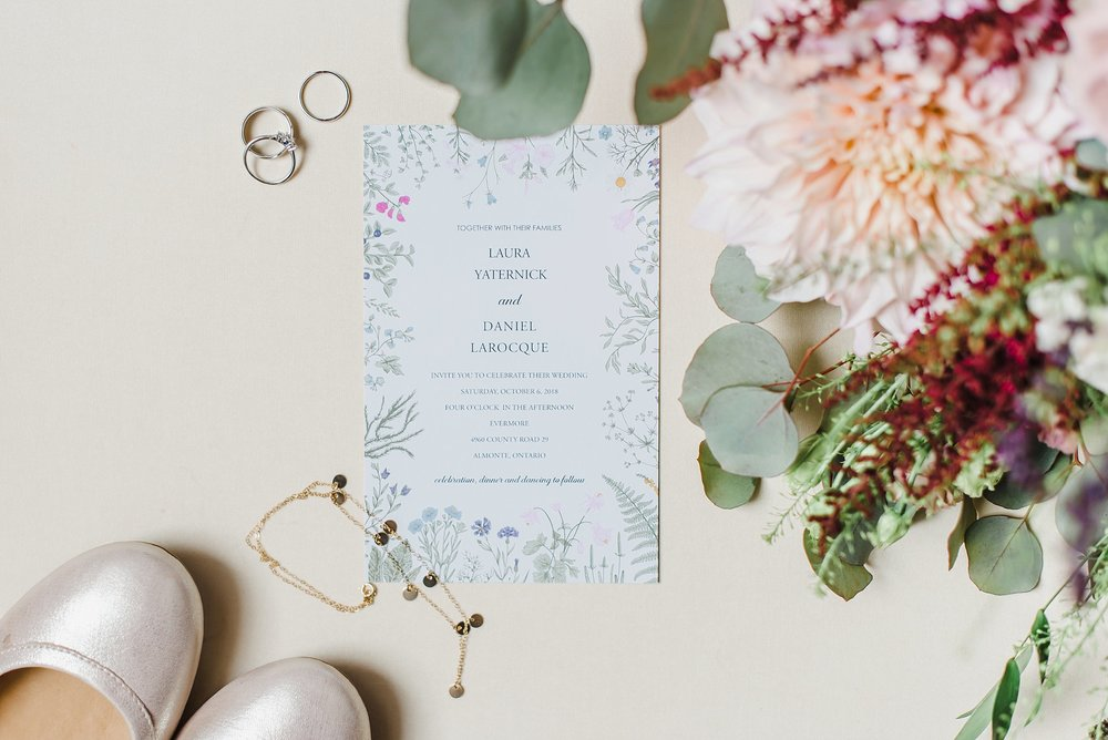 Wild-flowers galore!  Laura and Dan celebrated their wedding at Evermore with the most beautiful flower arrangements I have ever seen!  Done by the talented Katherine of Pollen Nation Floral Studios of course.    Their most magical boho wedding can be seen here.