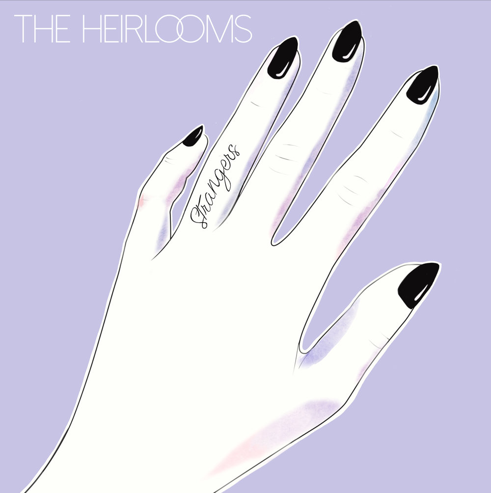 THE HEIRLOOMS • ALBUM COVER + LOGO