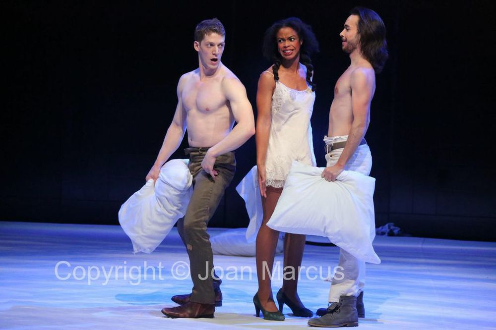 As Helena in 'A Midsummer Night's Dream'. Photo by Joan Marcus.