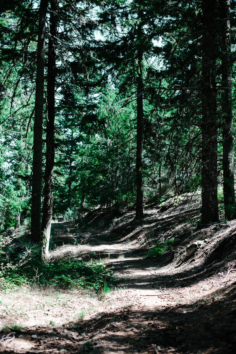 Hiking in the Serra da Estrela Mountain Range, Portugal