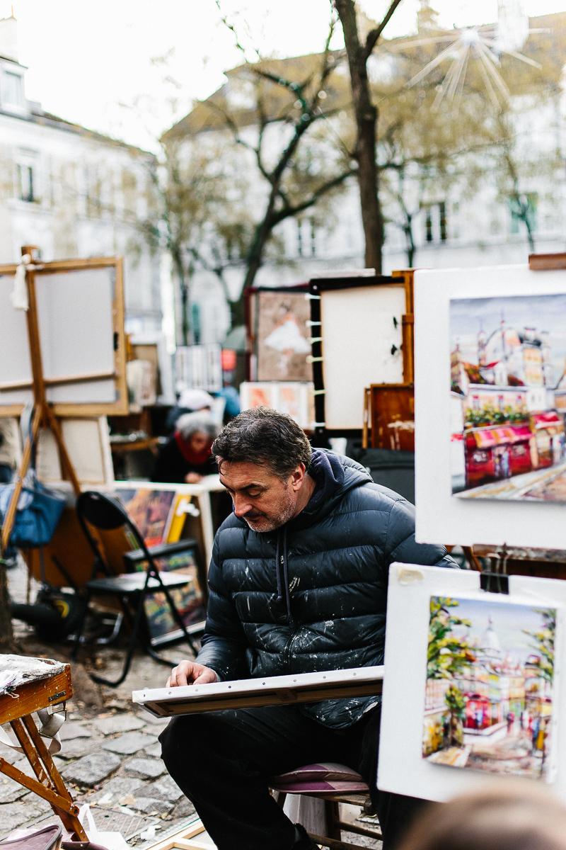 Place du Tertre, Montmartre, Paris - A Paris Guide