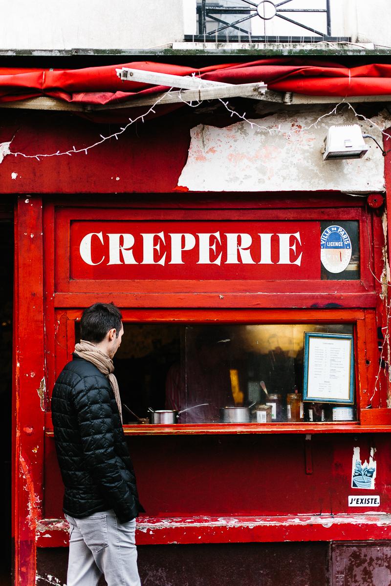 Crêperie, Montmartre, Paris - A Paris Guide