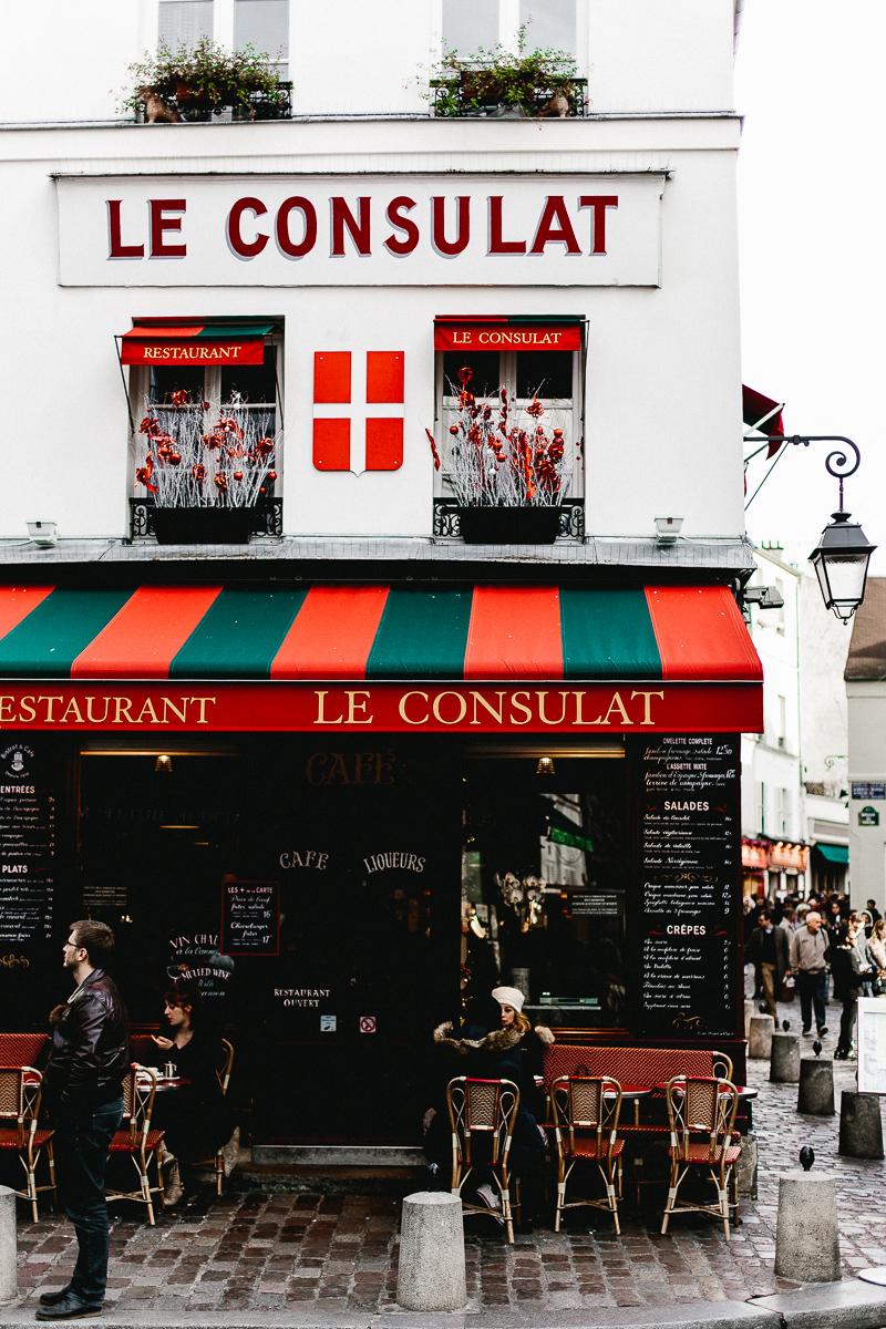 Le Consulat, Montmartre, Paris - A Paris Guide