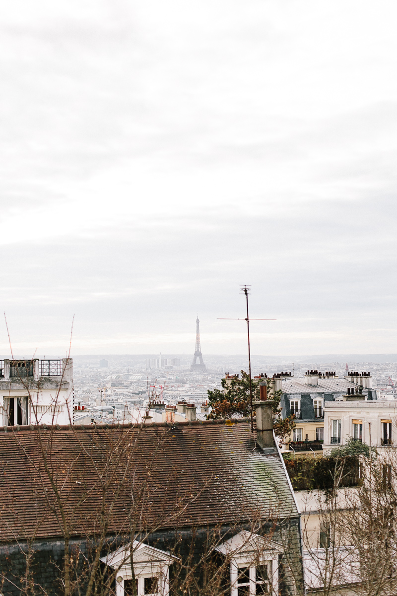 The Eiffel Tower from Montmartre - A Paris Guide