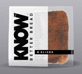 K  NOW Foods    Paleo Bread Slices  $10