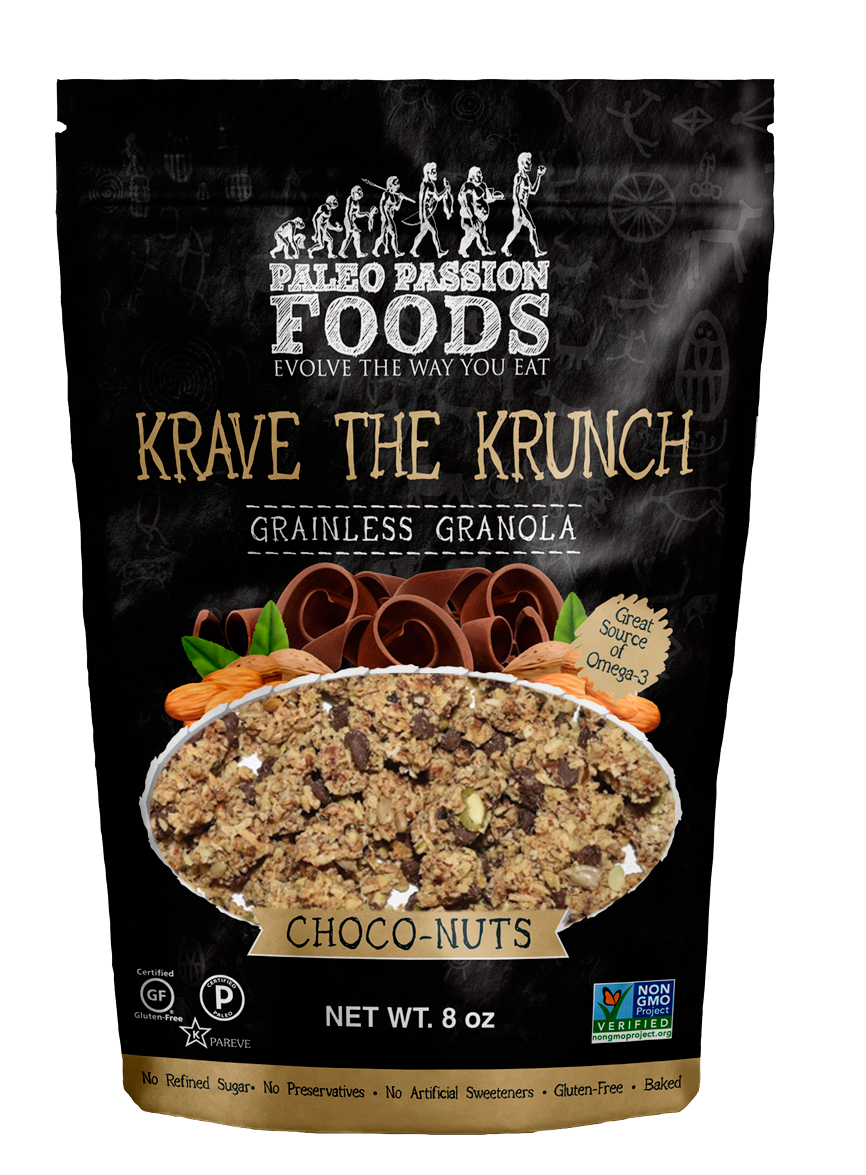 Paleo Passion Foods Choco-Nuts 3-Pack Granola  $15.50