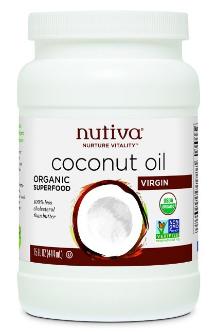 Nutiva Organic Coconut Oil  $10.44