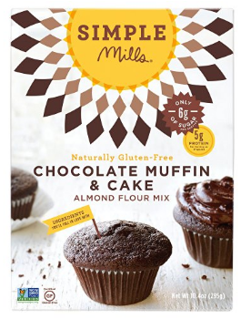 Simple Mills Paleo Chocolate Muffin & Cake Mix  $5.99