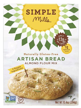Simple Mills Artisan Bread Mix  $6.99