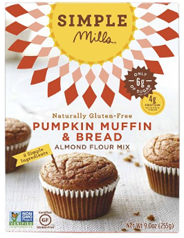 Simple Mills Paleo Pumpkin Muffin & Bread Mix  $6.99