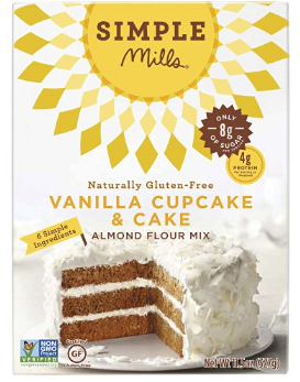 Simple Mills Paleo Vanilla Cupcake & Cake Mix