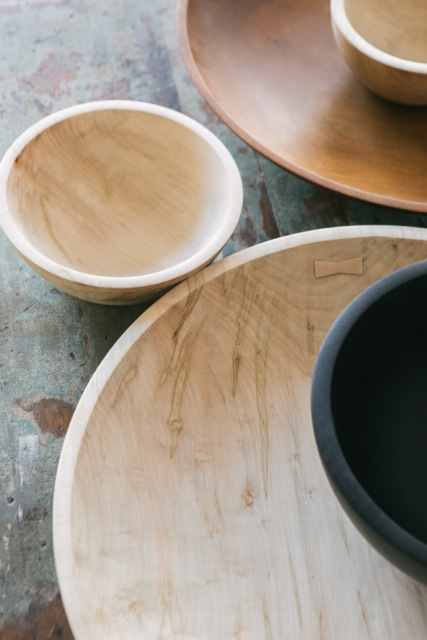 Large Maple Bowl