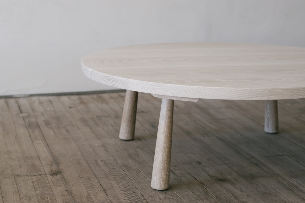 Sliding Dovetail Table - Round