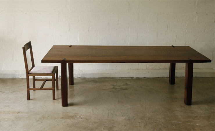 Mortise Dining Table