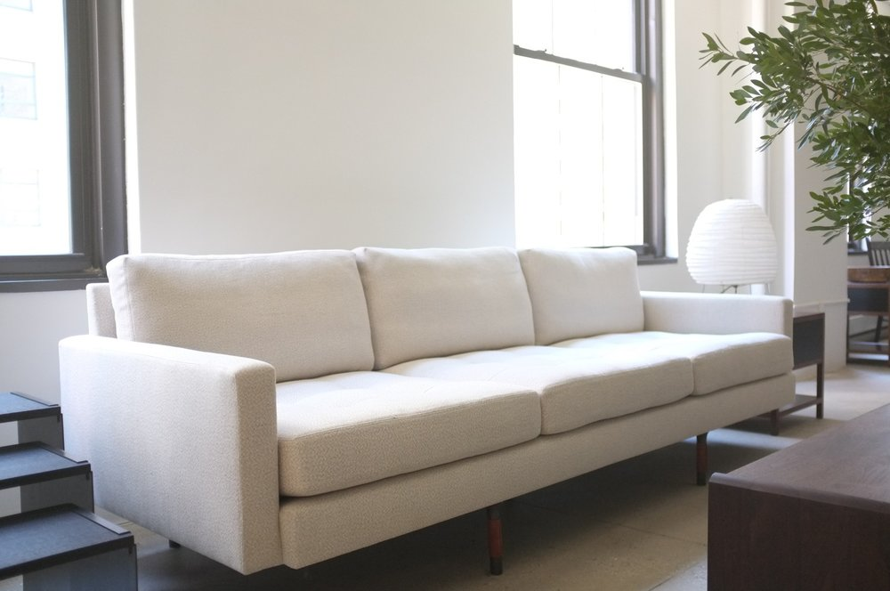 CUSTOM SQUARE ARM SOFA