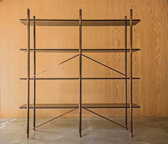 Gorget Shelving Unit