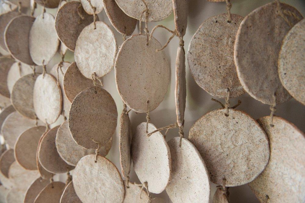MQuan Ceramic Wall Hanging - White
