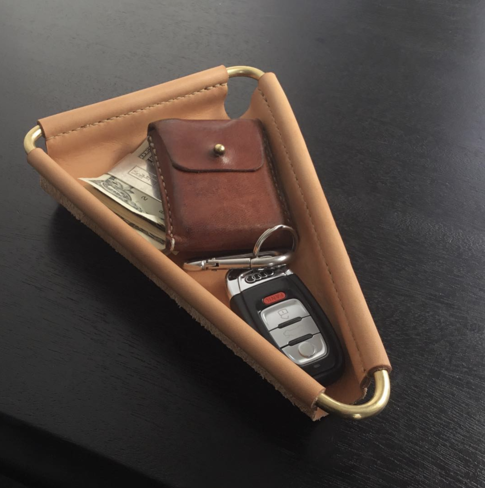 Triangle Valet Tray