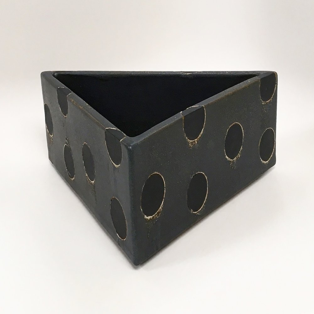 Triangular Polka Dot Container