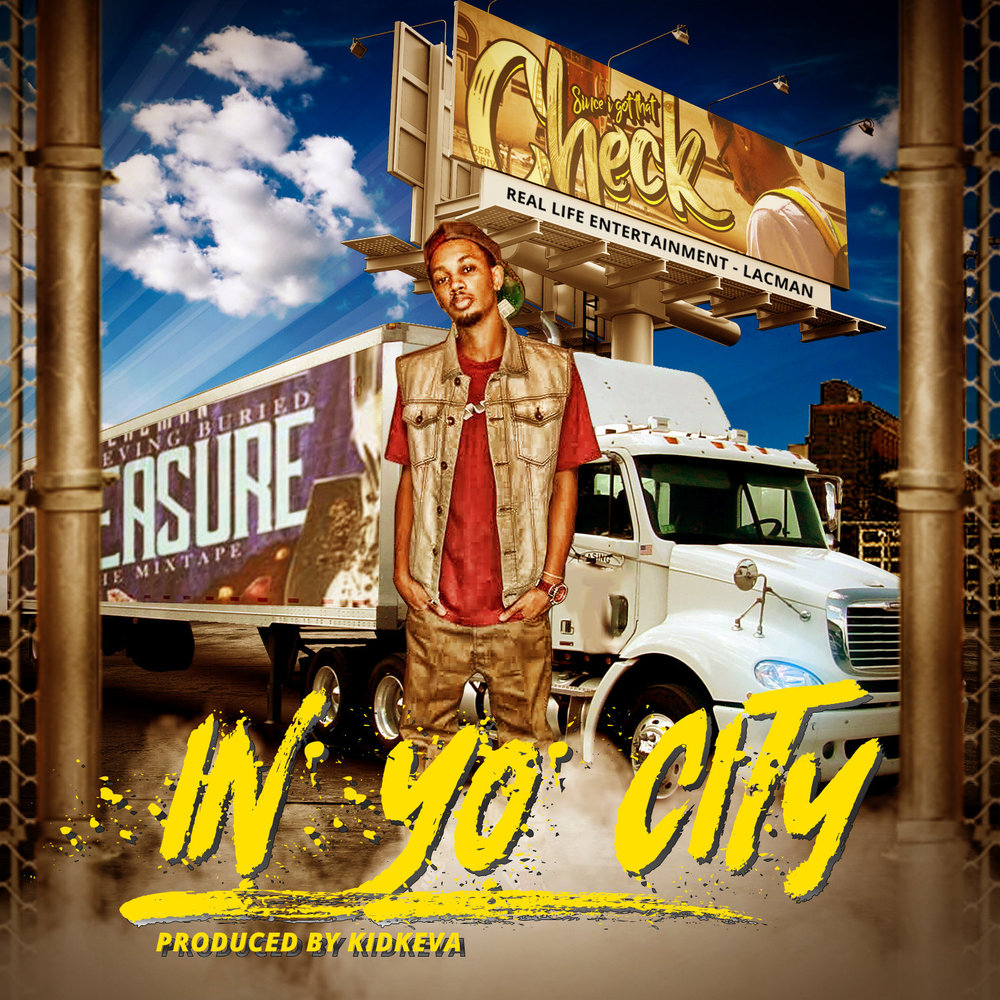 """In Yo City""  is an absolute smash hit! The first thing noticeable about this track is the beat. The production on this  trap  beat is  Flames  itself, but it doesn't stop there. The catchy hook is so perfectly laced, you automatically get tuned in the moment you hear it. If you enjoy getting money & trap music then this is one definitely for you. Written & performed by artist  LacMan , coming straight outta   Nashville, Tennessee  . His focus now is on introducing his music to the world. He's currently working on the awaited project   ""Retrieving Buried Treasure The Mixtape""   that will soon be dropped on  spinrilla  & other platforms alike. Inspired by artist such as  J.Cole, Fabolous, T.I., Starlito & Eminem ...With dreams to travel & have similar success with music as the ones who inspired him. Certainly off to an amazing start of his career with the new single  ""In Yo City"" . I rate this single  5 outta 5 Flames!  Click the link below to listen, Download & (or) share.        Name:  LacMan   Rating:  5 Flames   Link:   https://open.spotify.com/album/4CpG40F83UJfMEfAnmOlAO    Location:  Nashville, Tennessee"