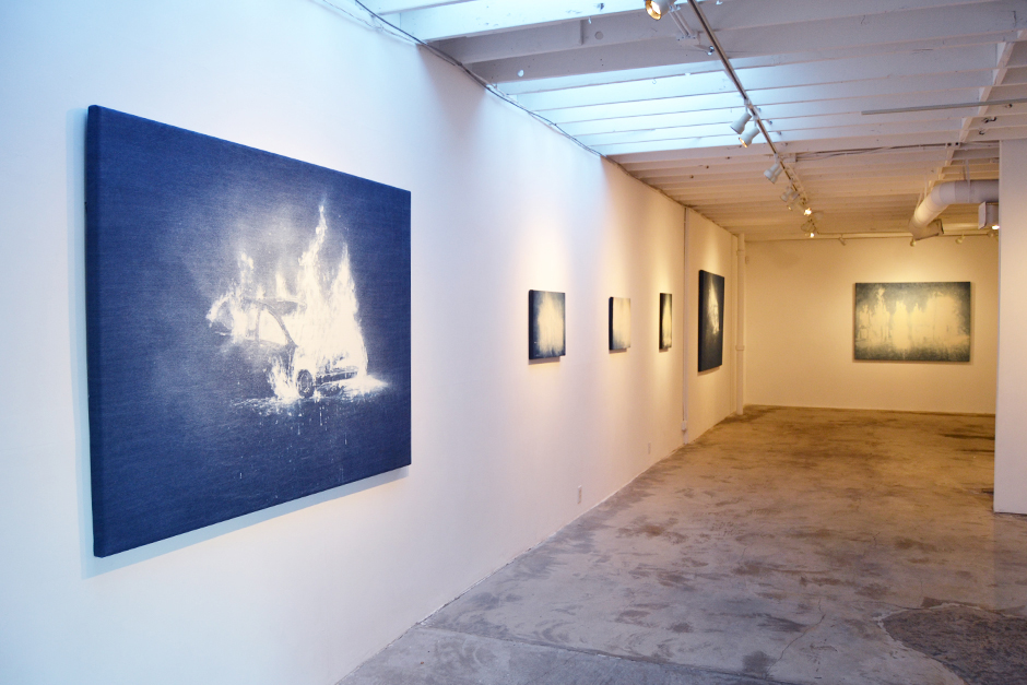 Installation view at Paul Loya Gallery, Los Angeles, 2015