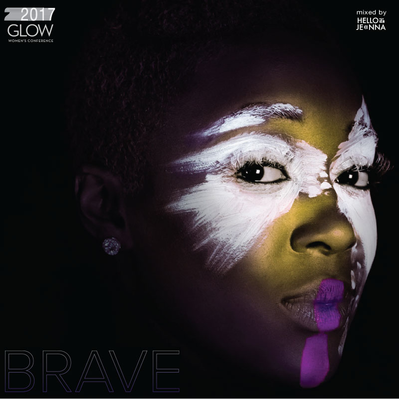 1. Glow Conference - BE BRAVE INSTRUMENTAL                                                                 2. CASS - Don't Look Down [feat. Blake Young]                                                    3. Erica Campbell - I Luh God                                                                             4. Kim Walker-Smith - Brave Surrender                                                                       5. Hannah Kerr - Warrior (Battle Cry Remix)                                                            6. Britt Nicole - Ready or Not (feat. Lecrae) [Phenomenon Remix By Soul Glow Activatur]                 7. Alexis Spight - It Will Be Alright                                                                    8. Beyoncé and Walter Williams, Sr. (of The O'Jays) - He Still Loves Me                                                                     9. Kierra Sheard - LED                                                                      10. Angie Rose - Fiya *Caramel Macchiato* [feat. Lish]                                                 11. Royce Lovett - Up For Love                                                                           12. Jackie Hill Perry - The Art of Joy                                                                        13. Daru & Rena - Spirit [feat. Tone Trezure]                                                           14. Tasha Cobbs Leonard - I'm Getting Ready [feat. Nicki Minaj)                                                 15. Angie Rose - Limited Vision *Black Coffee*                                                         16. Jor'dan Armstrong - So Much in Luv                                                                        17. SPZRKT - Best Of Your Love                                              18. Mary Mary - Shackles                                                                              19. Fantasia - I Made It [feat. Tye Tribbett]                                                        20. Jeremy Passion - Greater is He [feat. Tori Kelly]                                                      21. Local Sound - Wild                                                                   22. Hillsong Young & Free - Falling into You                                                                      23. Hollyn - All My Love                                                                           24. Hillsong UNITED - Touch The Sky (sXw Remix)                                                             25. Local Sound - More Than Air                                                                         26. Hollyn - Love With Your Life                                                                   27. GAWVI - Like We Belong                                                                        28. Holly Starr - Run the Race (Matthew Parker Remix)                                                   29. Hillsong Young & Free - Where You Are                                                                         30. Blanca - Not Backing Down [feat. Tedashii]                                                     31. Lecrae - I'll Find You  [feat. Tori Kelly]                                                     32. Bethel Music - You Make Me Brave (Live)