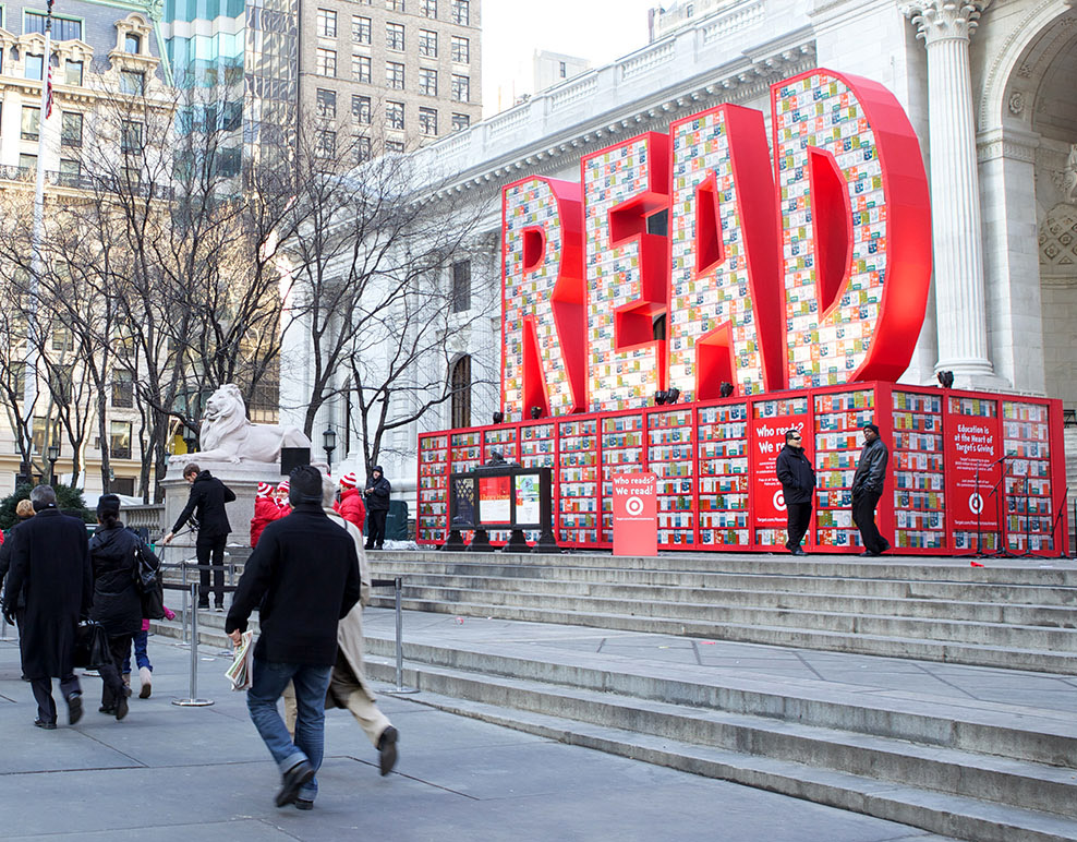 READ ACROSS AMERICA  |  INSTALLATION