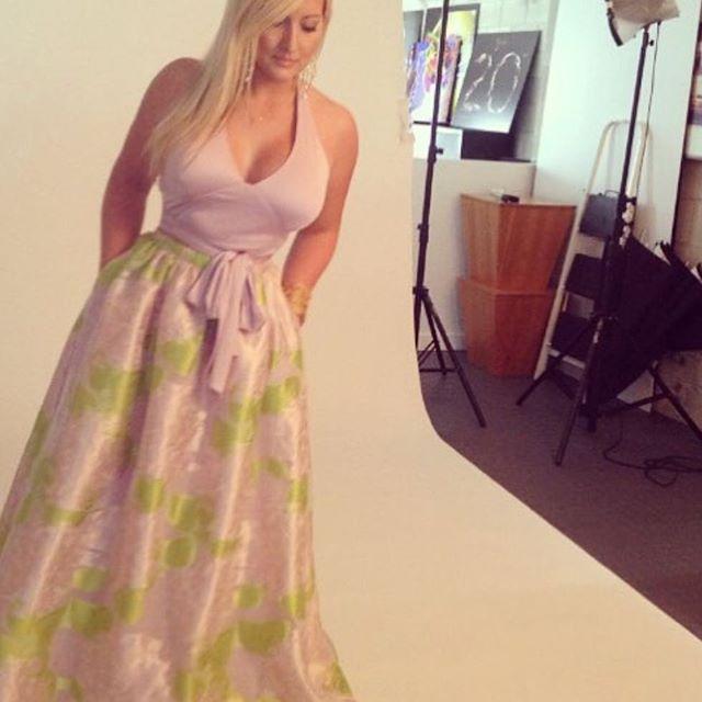 Behind the scenes... 📷 . . . . #photoshoot #designer #ballskirt #happy #florida #siestakey #photos #camera #model #fashion #womenswear #womensfashion #fashionista