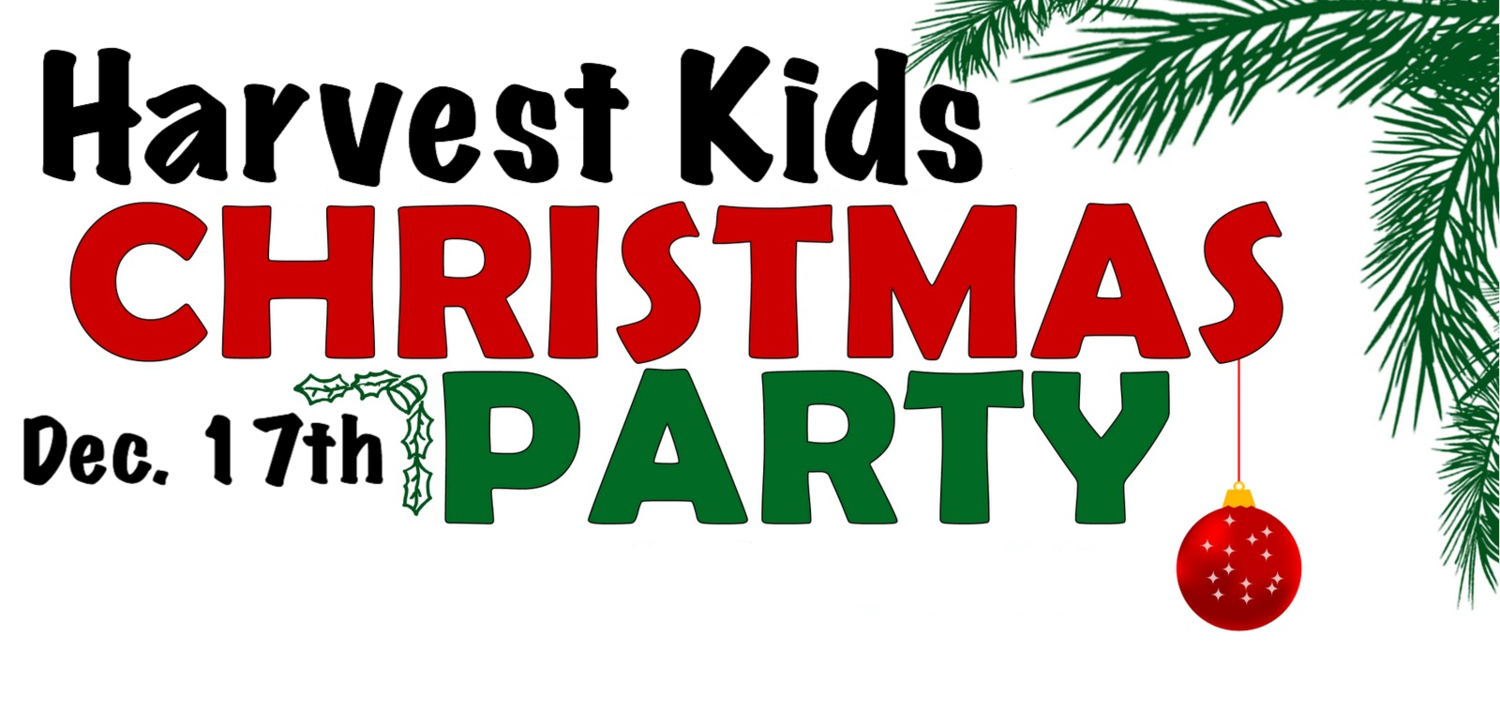 Harvest Kids Christmas Party — Redemption Church Calgary North