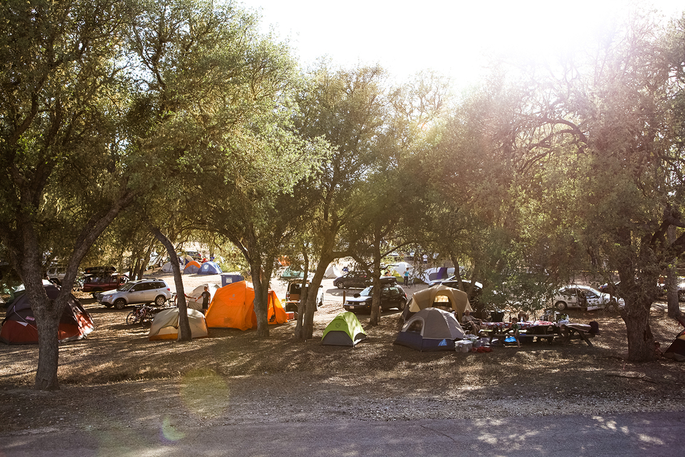 You won't find another race where thousands of triathletes will camp at the race and that has the party feel of Wildflower. It's like Woodstock and Burning Man meets a triathlon.