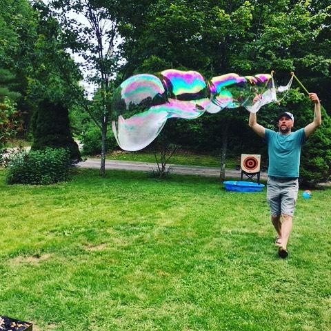 Fun for all ages! #faroutbubbles
