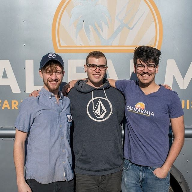 If #CalifarmiaTruck was a car (no pun intended) our part-timers would be the oil that keeps us running smoothly. Catch 2 of these guys tomorrow at our home away from home @FranklinFarmersmkt tomorrow 9-12.