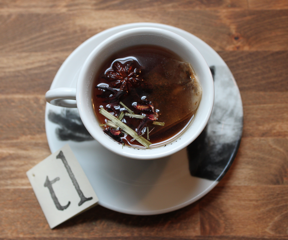 Sweet Relief Hot Toddy  - Combine brewed Relief Tea with a splash of Red Raspberry & Elderflower Shrub and lemon wedge.  Add bourbon or whiskey to taste.