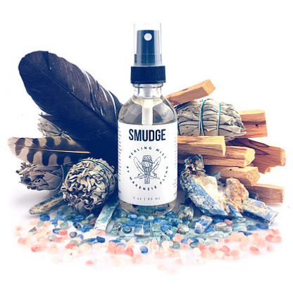 A smokeless alternative to traditional herbal smudging. Perfect for a hot Summer day!