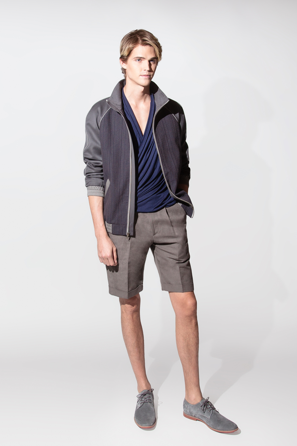 cotton/linen short $195