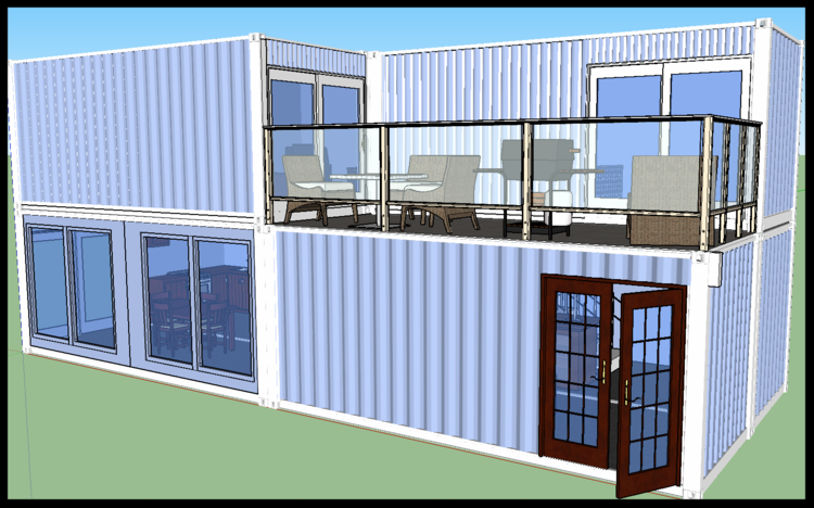 containerhouse quadra container homepng - Container Homes