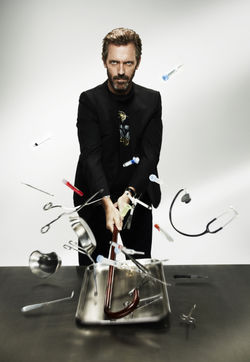 Dr. Gregory House. Photo courtesy of Wikia.