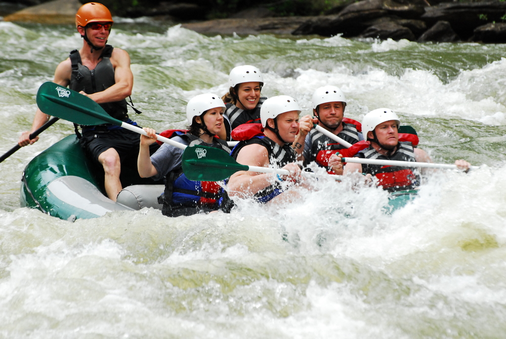 Rafting the Middle Ocoee River