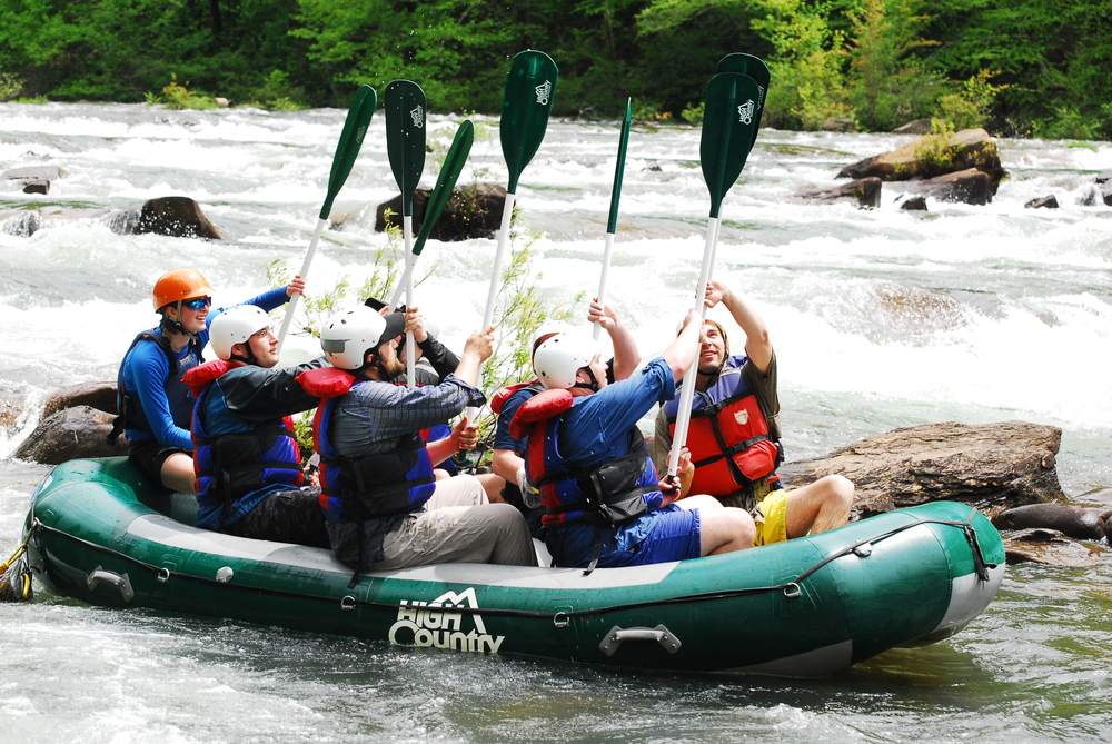 Whitewater High Five, Ocoee River