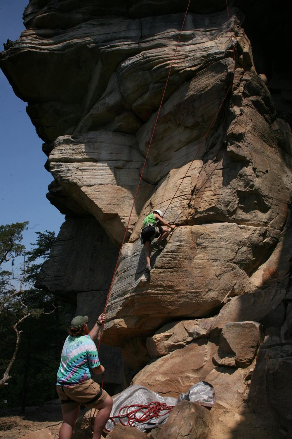 High Country Adventures rock climbing